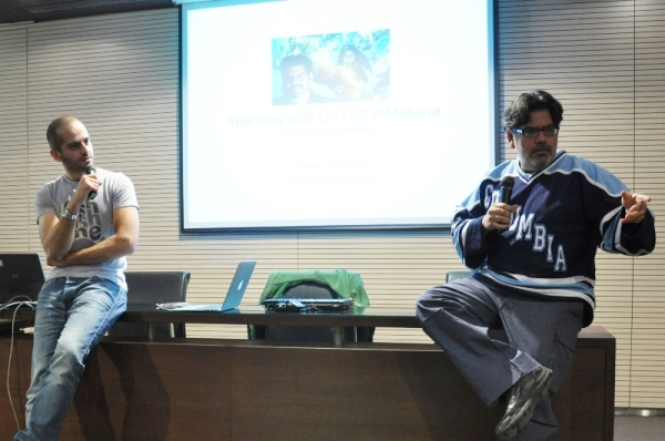 With Dr. Naif Al-Mutawa