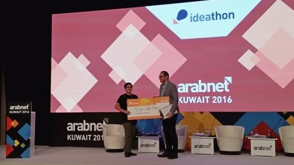 2016_10_11_jaffer_mahdi_arabnet_ideathon_winner